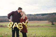 pregnancy announcement session // covington, ga (ashley white)
