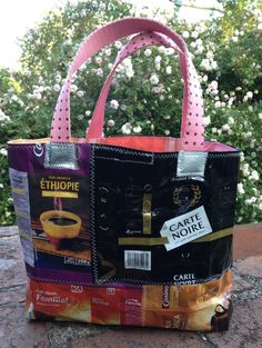 The french bag of COFFEE. $35.00, via Etsy.