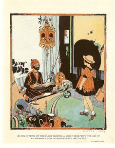 Vintage Gladys Peto 1920s illustration via Etsy.
