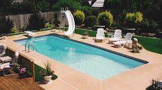Rectangle Pools - Trilogy Fiberglass Swimming Pool Products