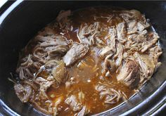 Slow Cooker BBQ Pulled Pork – plentytude