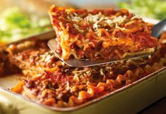 It's all about the layering when you make lasagna and is so easy when you start with asauce already made and delicious.
