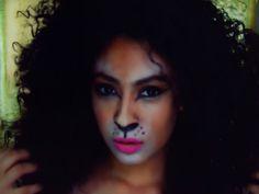 Lion Halloween Makeup Tutorial :The Easy Way