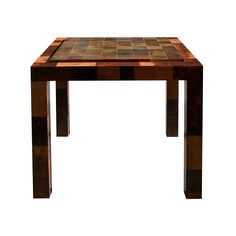 Paul Evans Patchwork Burl Game Table - Todd Merrill