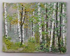 ru / Фото - Joe Wood - cherepaha-i Fabric Beads, Fabric Art, Jo Wood, Seed Bead Art, Landscape Quilts, Gold Work, Landscape Pictures, Lace Embroidery, Felt Art