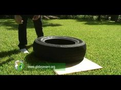 How To Make A Solar / Tire Cooker