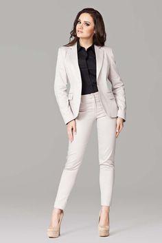 Eleganckie wizytowe spodnie damskie