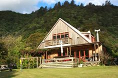 Family experience offering a various facilities in Te Mahia, Kenepuru Sound Marlborough Sounds, Holiday Accommodation, Cabin, House Styles, Home Decor, Decoration Home, Room Decor, Cabins, Cottage