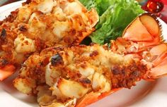 Christmas eve stuffed lobster tails