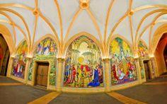 """Mosaic Masterpiece"" photographer: Tom Bricker location: Cinderella Castle"