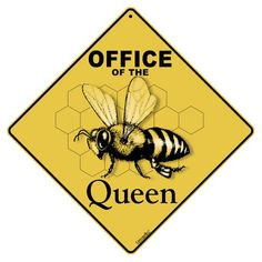 Office of Queen Sign - Great Gift idea