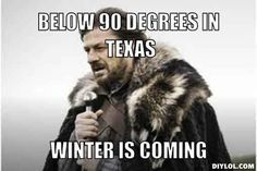 6. Going to the beach/lake/river/pool in late November is normal. | 14 Signs It's Winter And You're Texan