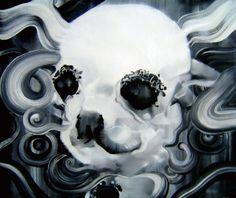 《闪耀的狗》Shining Dog 50cm x 60cm 布面油画 Oil on Linen