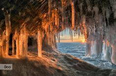 Ice grotto (II) by Andrey Grachev on 500px