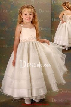 Draped Tiered Skirt for Romantic Princess Flower Girl Dress