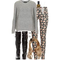"""""""Malia Inspired Outfit with Requested Pants"""" by veterization on Polyvore"""