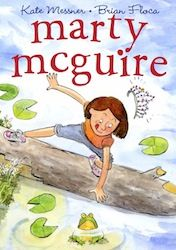 Marty McGuire - Awesome read aloud for second graders!  Marty would rather spend recess catching frogs than playing dress-up with the other girls.  After given the part of a princess in her class play, Marty learns how to improvise and makes the play a crowd pleaser!  - My 2nd graders love to play the Statue Garden game the characters play in this book.