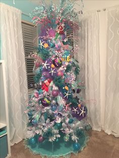Little Mermaid Christmas Tree