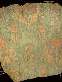 Edwardian Art Nouveau printed linoleum from an Australian house Australian Homes, Museum Collection, Art Nouveau, Vintage World Maps, Outdoor Blanket, Victorian, Printed, Antiques, House