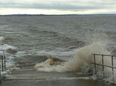 Tides in at Crosby beach