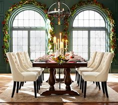 Lorraine Extending Dining Table | Pottery Barn