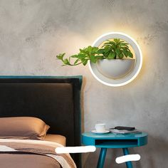 This contemporary wall light features a modern, round shape and is available two color temperatures. The subtle finishes fit well into the bedroom, living room, hotel, and restaurant LED Bulb . Led Wall Lamp, Led Wall Lights, Wall Sconce Lighting, Wall Sconces, Contemporary Wall Lights, Modern Wall, Inflatable Bed, Interior Lighting, Lighting Design