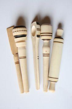 Utensilios de cocina - Set de 5 piezas de madera de emeequisartesanias en Etsy