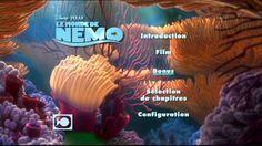 Finding Nemo Dvd Menu