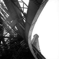 René Burri - The Eiffel Tower. France. Paris. 1950