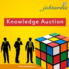 #Knowledge #Auction for #Recruiters @ www.jobtardis.in/knowledge-auction.php