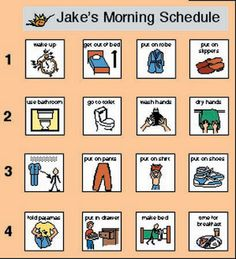 Schedule at School free download for AAC and early language | PECs ...
