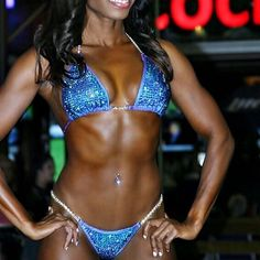 Sponsored Athlete Search coming soon! Bikini Competition Prep, Figure Suits, Posing Suits, Black Fitness, Bikini Competitor, Bikini Workout, Bikinis, Swimwear, Athlete