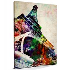 Eiffel Tower Art Print and Canvas