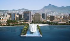 Museum of Tomorrow (coming later this year) :: Rio de Janeiro, Brazil