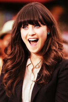 How does one have hair like Zooey Deschanel?