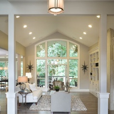 Vaulted Great Room Design, Pictures, Remodel, Decor and Ideas - page 32