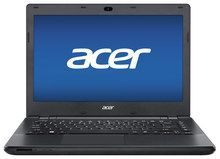 "Acer - TravelMate 14"" Laptop - Intel Pentium - 4GB Memory - 500GB Hard Drive - Black"