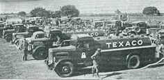Image result for black and white texaco truck photos
