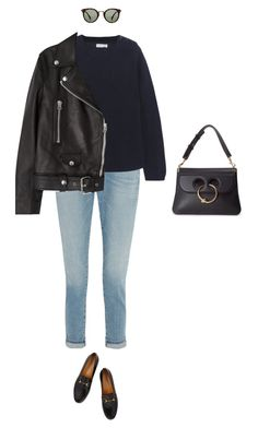 """Untitled #674"" by amyjonez on Polyvore featuring Frame Denim, Gucci, Chinti and Parker, Acne Studios, CÉLINE and J.W. Anderson"