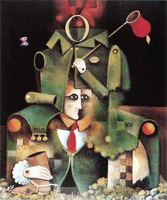 Eduard Alcoy  -  Tarot: El Boig (1981)