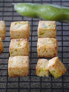 【ELLE gourmet】そら豆とチーズのサブレレシピ|エル・オンライン