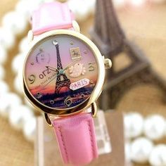 Eiffel Paris evening watch
