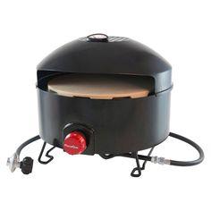 Outdoor Cooker And Fryer 12.3in - Black - Pizzacraft
