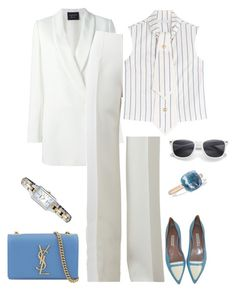 """""""outfit 3614"""" by natalyag ❤ liked on Polyvore featuring Lanvin, Michael Kors, J.W. Anderson, Pomellato, Seiko and Yves Saint Laurent"""