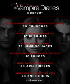 TV-Inspired Workouts: Walking Dead, Game of Thrones, Vampire Diaries