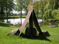Ruhrgebietmitte hat KulturPOTTential - Lee Ufan, tent, Situation Kunst,Schloßpark,Bochum Weitmar