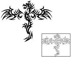 Tribal Dragon Tattoos ANF-01985 Created by Anibal