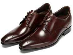 89.17$  Watch here - http://ali1yo.worldwells.pw/go.php?t=32520174282 - Fashion height Increasing oxfords shoes mens business shoes genuine leather dress shoes mens wedding shoes grow taller 5CM 89.17$