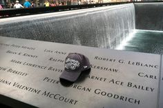 """One Kings Fan's Tribute at the 9/11 Memorial -- The Sports Section:    Mark Bavis & Garnet """"Ace"""" Bailey were scouts for the Kings. Both were killed when their plane was hijacked on 9/11."""