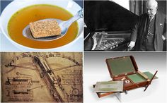 10 forgotten inventions of famous people